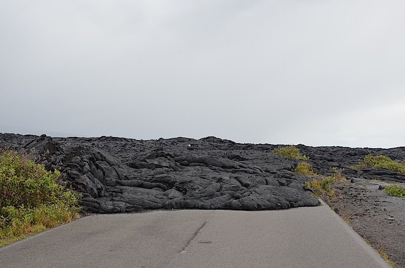 Chain of craters road