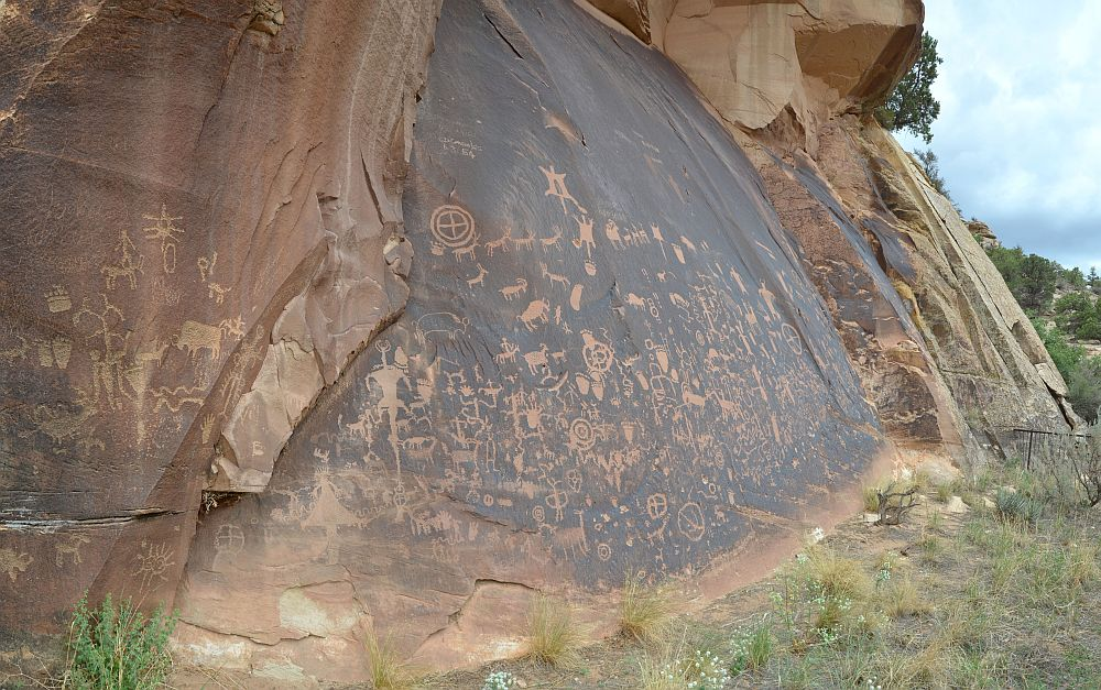 Newspaper Rock, Indian Canyon, UT