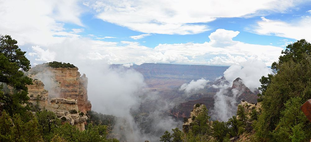 Walhalla Overlook, Grand Canyon National Park, North Rim, AZ