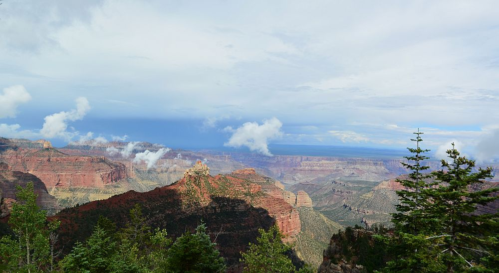 Vista Encantada, Grand Canyon National Park, North Rim, AZ