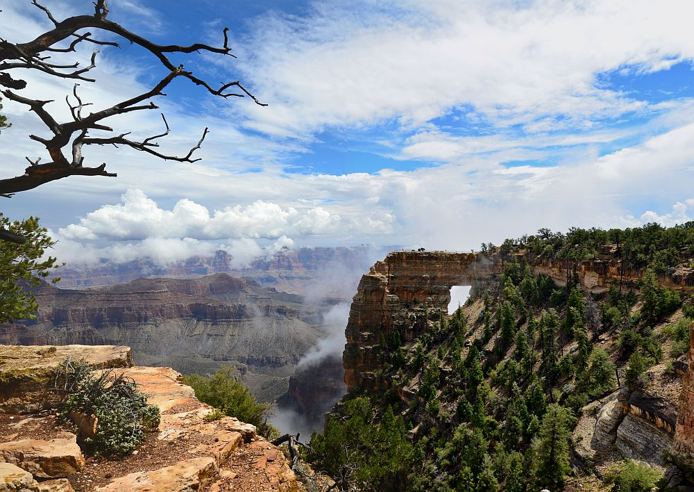 Angels Window, Grand Canyon National Park, North Rim, AZ