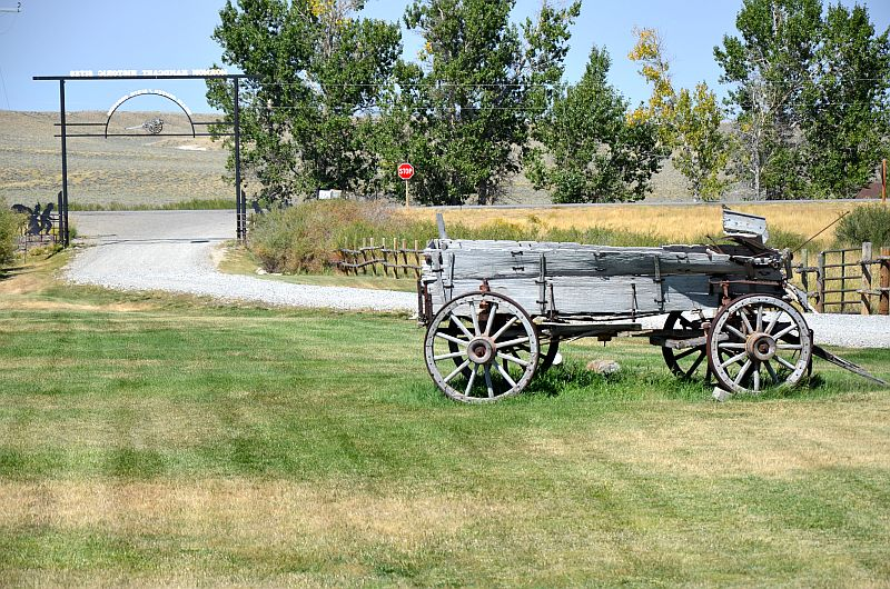 Mormon Handcart Visitor Center, Hwy 287