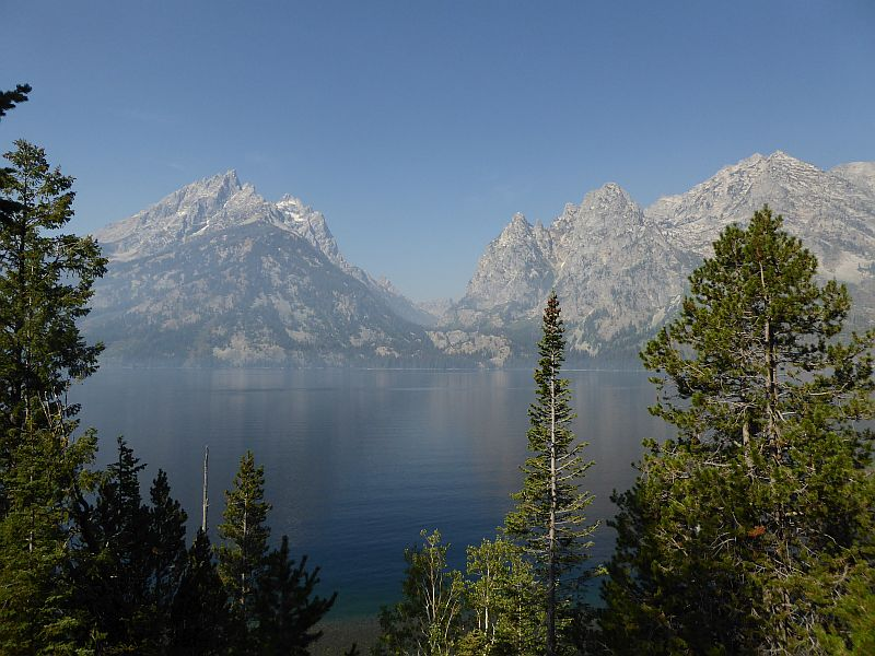 Jenny Lake Overlook, Grand Teton National Park